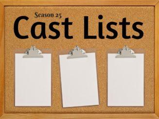 2017 Cannonball Cast Lists Announced!