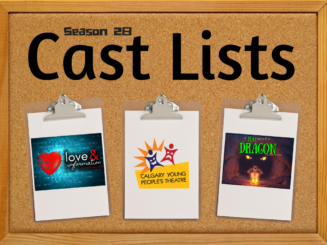 Cast Lists: A Play About a Dragon and Love & Information
