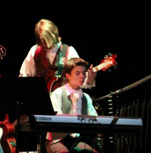 Cole and the Zombie Sailor Moon Band in The Count of Monte Cristo (2012)