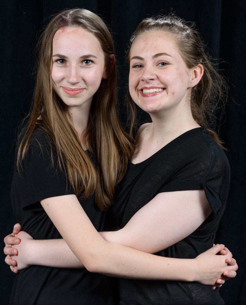 Lauren and Grace, Stage Management Sisters.
